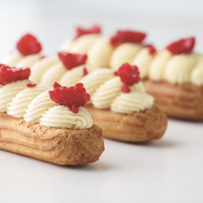 Eclair aux fruits rouges