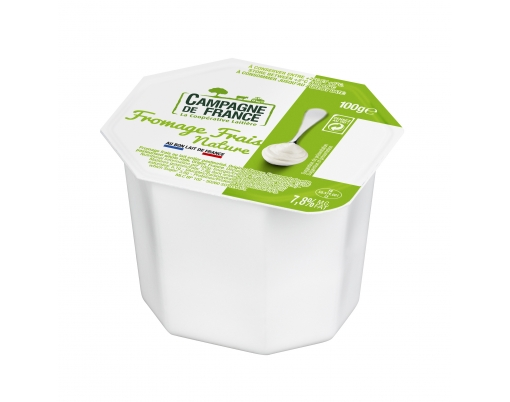 Photo de packaging Fromage frais nature 7,8%